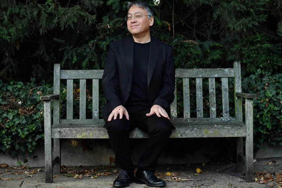 L'écrivain britannique d'origine japonaise Kazuo Ishiguro... (PHOTO AFP)