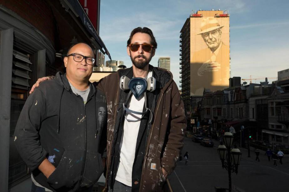 Gene Pendon et El Mac inaugureront, mardi, une... (Photo Robert Skinner, La Presse)