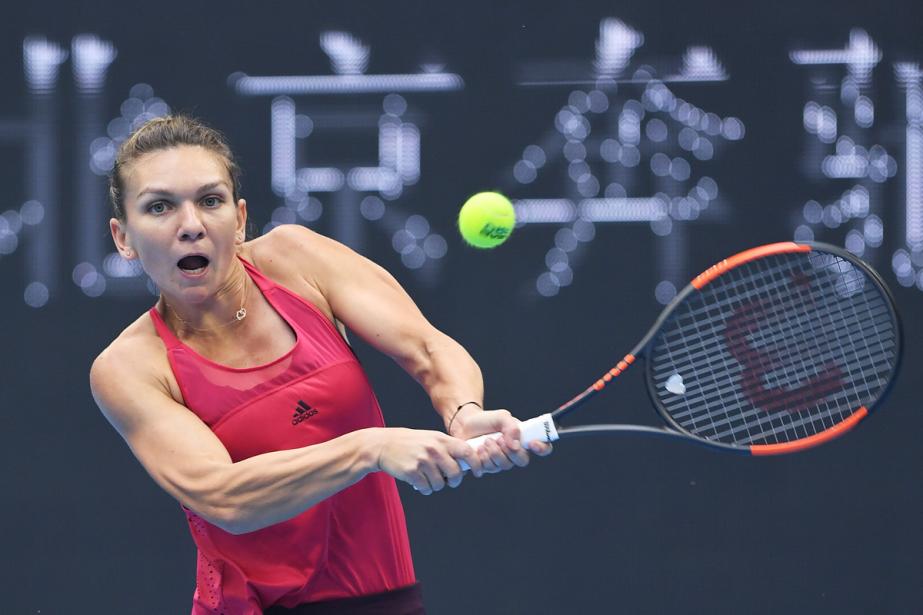 Simona Halep a battu en demi-finales Jelena Ostapenko... (PHOTO AFP)