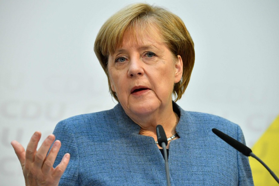 Angela Merkel... (Photo John MacDougall, archives Agence France-Presse)