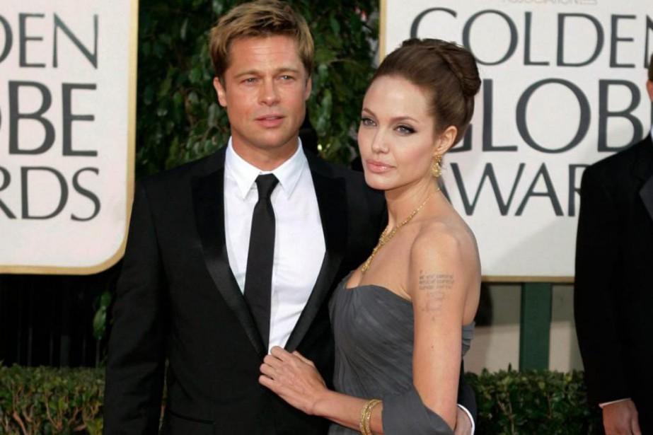 Brad Pitt et Angelina Jolie en 2016... (Photo archives Associated Press)