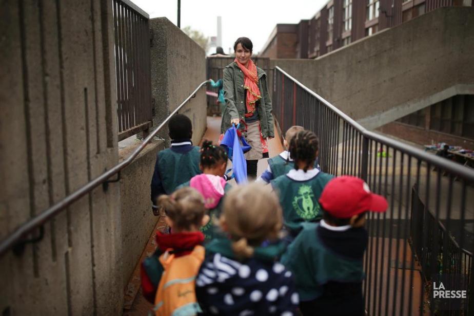 L'éducatrice MarianneSchneider juge «inacceptable» que tout le personnel... (PHOTO MARTINCHAMBERLAND, LA PRESSE)