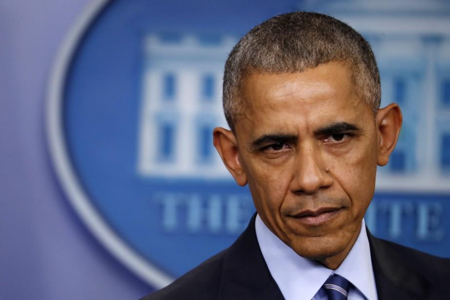Barack Obama... (PHOTO Pablo Martinez Monsivais, ARCHIVES AP)
