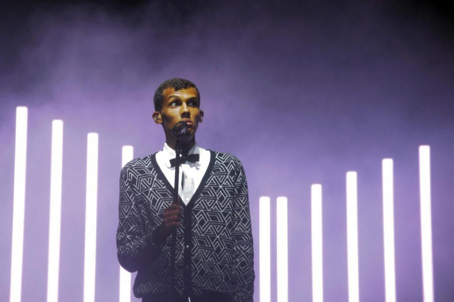 Stromae, qui présente vendredi une collection de vêtements... (photo séBASTIEN BOZON, archives agence france-presse)