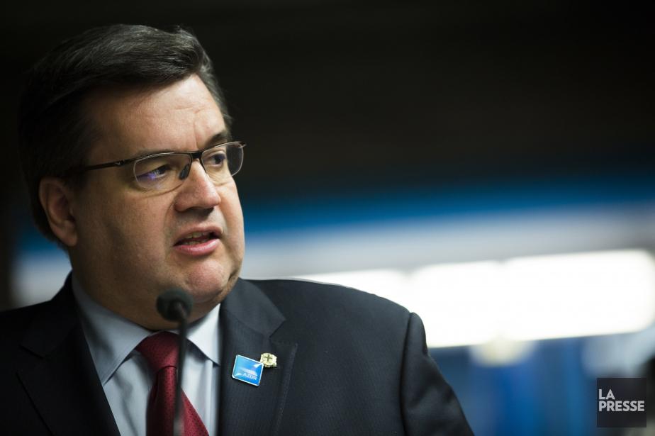 Le maire de Montréal, Denis Coderre.... (PHOTO OLIVIER PONTBRIAND, ARCHIVES LA PRESSE)
