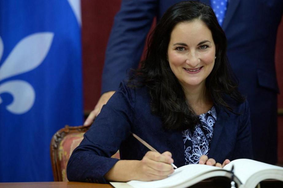 La nouvelle ministrede la Culture et des Communications,Marie... (photo erick labbé, le soleil)