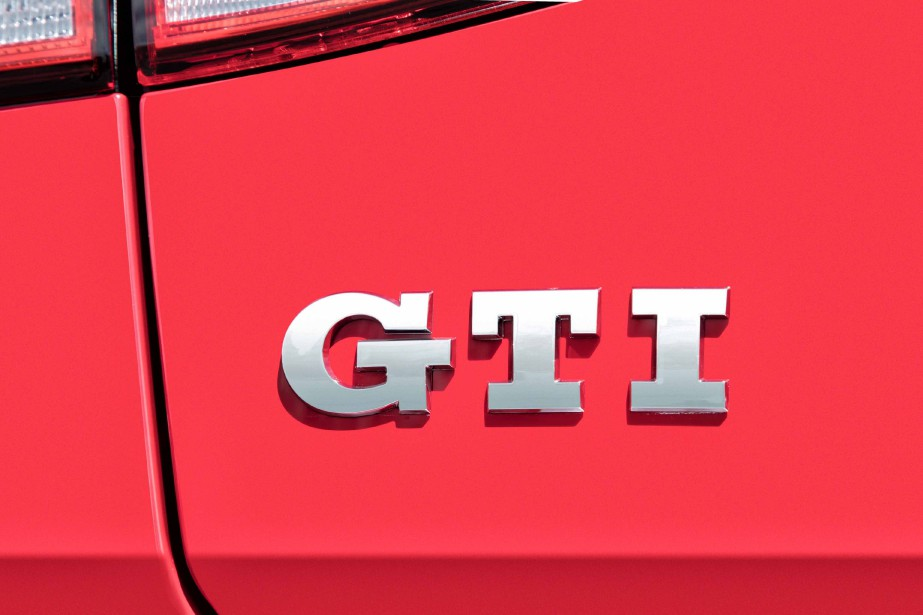 La Volkswagen Golf GTI (Photo fournie par Volkswagen)