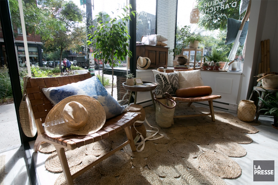 La boutique Coeur d'artichaut a ouvert ses portes... (PHOTO FRANÇOIS ROY, LA PRESSE)