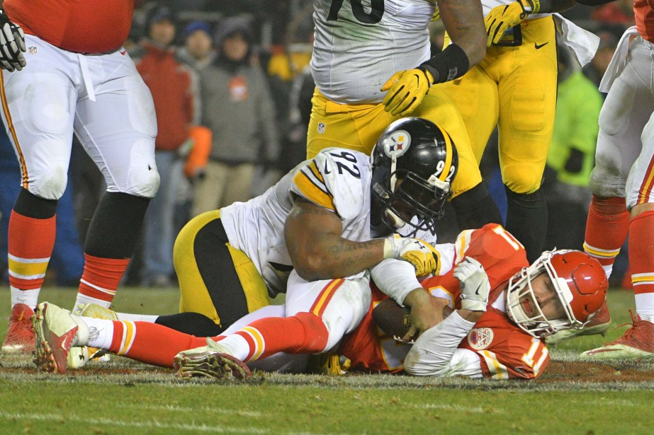Alex Smith (11) et les Chiefs de Kansas... (Photo Denny Medley, archives USA Today Sports)