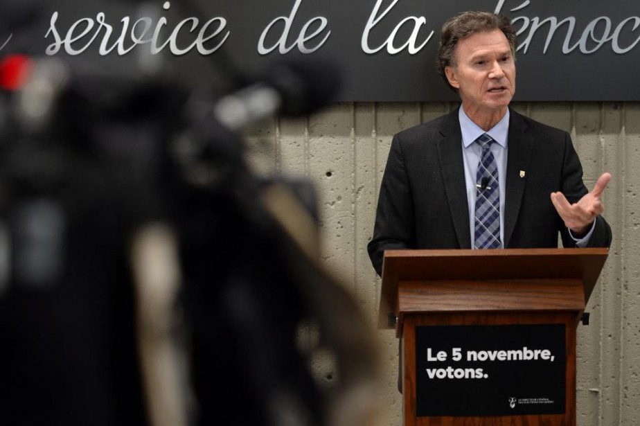 Pierre Reid, directeur général des élections du Québec... (PhotoErick Labbé, Le Soleil)