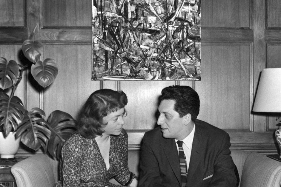 Le couple Mitchell et Riopelle à Chicago vers... (Photo fournie par le MNBAQ)