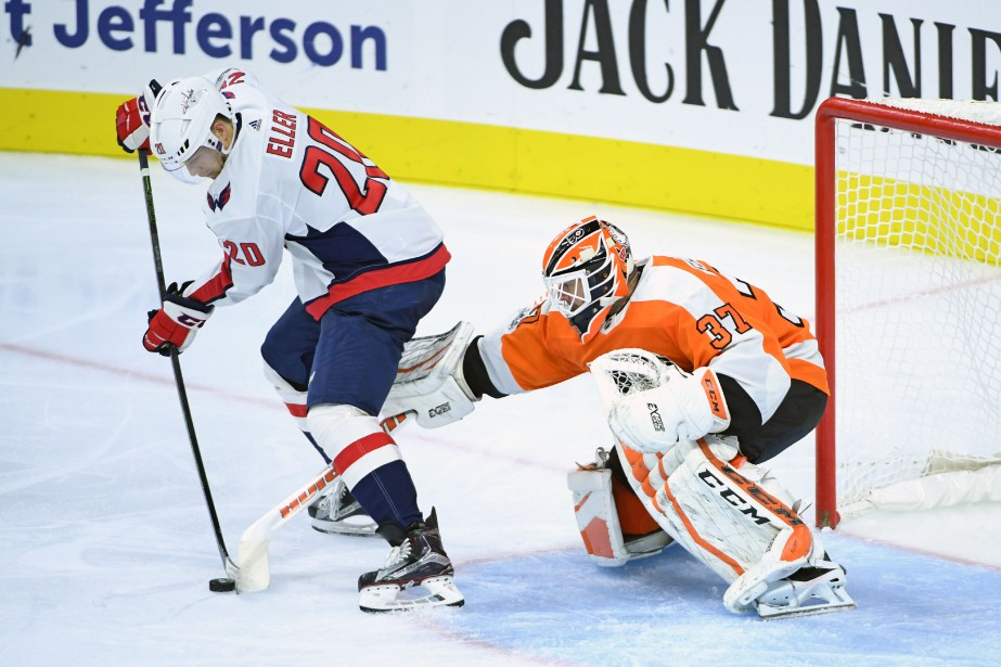 Le gardien des Flyers a bloqué 18 des... (USA Today Sports)
