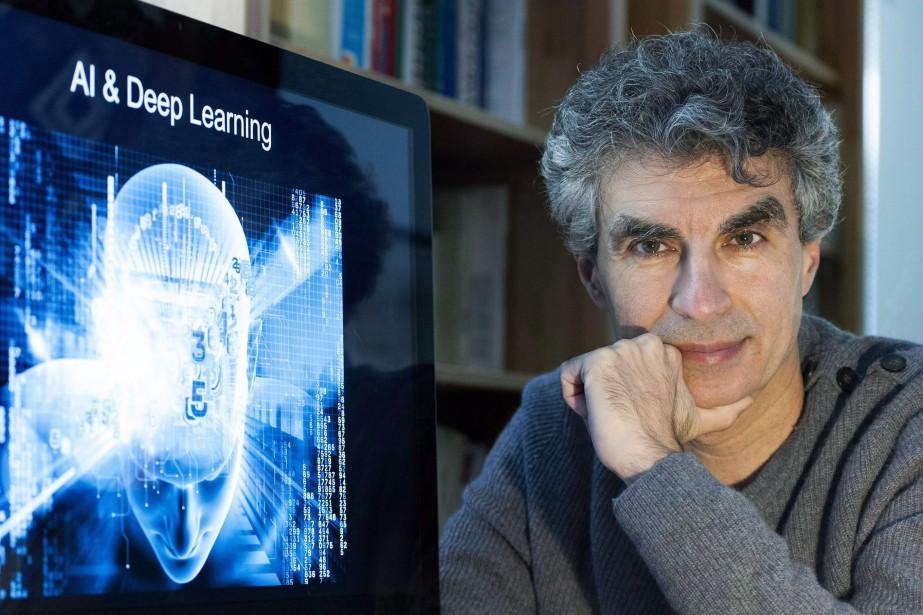 Yoshua Bengio, de l'Institut des algorithmes d'apprentissage de... (Photo archives Graham Hughes, La Presse canadienne)