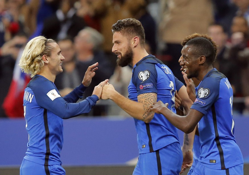 La France a gagné un rang pour se... (Photo Michel Euler, AP)