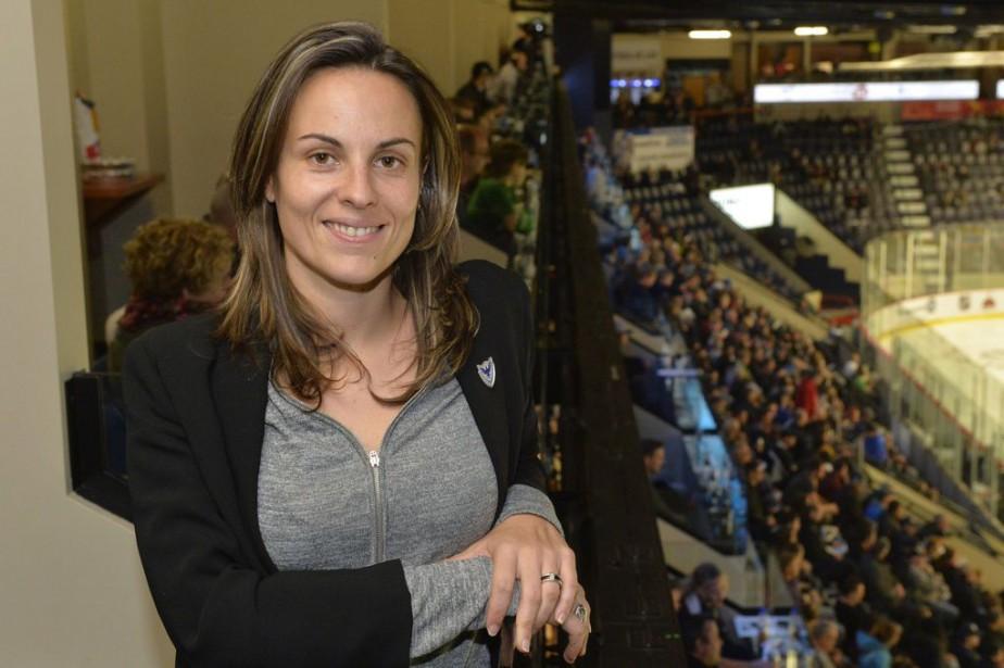 Charline Durand prend la relève de Sylvie Fortier... (Photo Maxime Picard, Spectre Média)