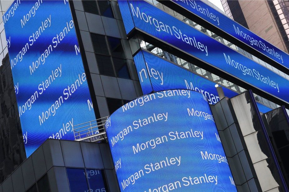 La banque d'affaires américaine Morgan Stanley a annoncé... (Photo archives AP)