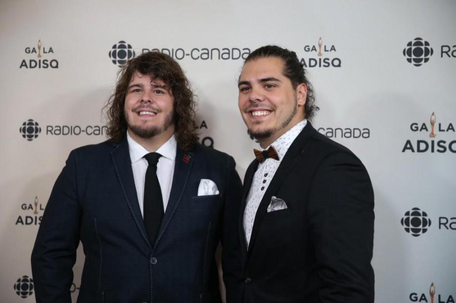 Les frères Sonny et Erik Caouette ont vendu... (PHOTO Martin Chamberland, LA PRESSE)