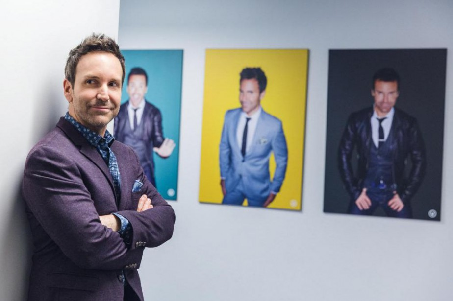 Éric Salvail... (PHOTO ULYSSE LEMERISE, COLLABORATION SPÉCIALE, ARCHIVES LA PRESSE)