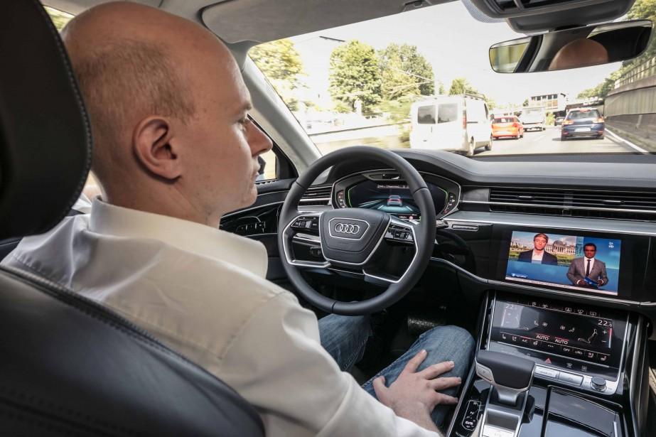 L'intérieur de l'Audi A8 | 19 octobre 2017