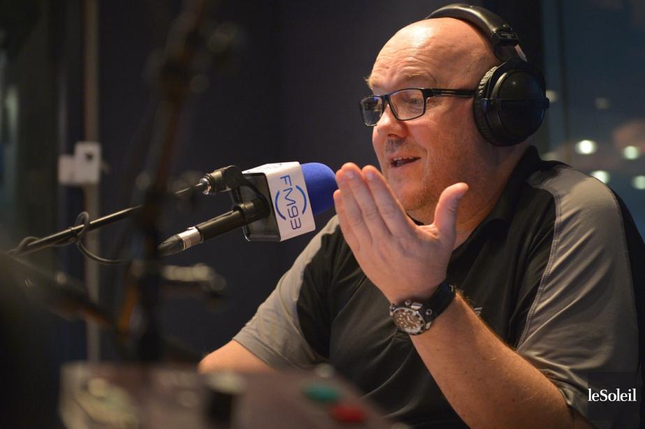 L'animateur de radio de Québec Gilles Parent... (PHOTO YAN DOUBLET, archives LE SOLEIL)