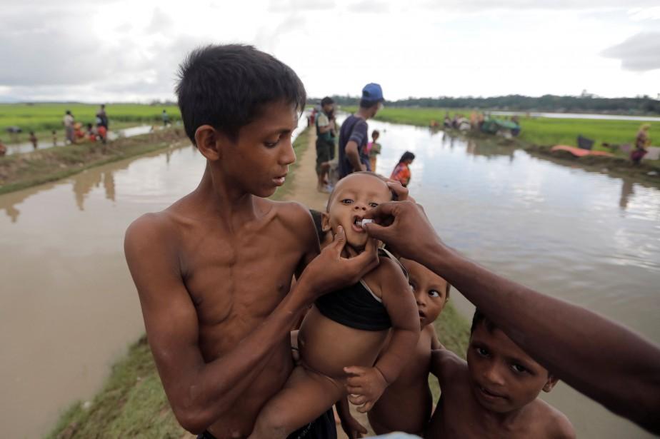Les réfugiés rohingyas, dont la majorité sont des... (Photo Zohra Bensemra, REUTERS)