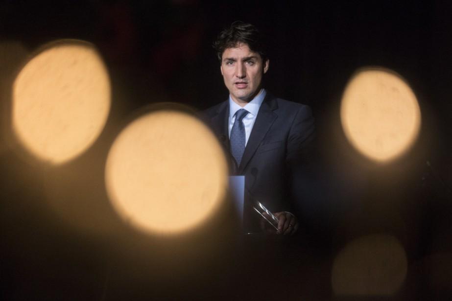 Justin Trudeau a blâmé le gouvernement conservateur de... (Photo Chris Young, La Presse canadienne)