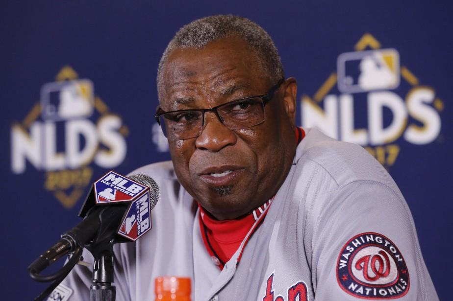 Le gérant des Nationals de Washington, Dusty Baker.... (Photo Charles Rex Arbogast, AP)