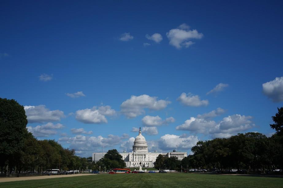 Le déficit budgétaire des États-Unis pour... (PHOTO MANDEL NGAN, ARCHIVES AFP)