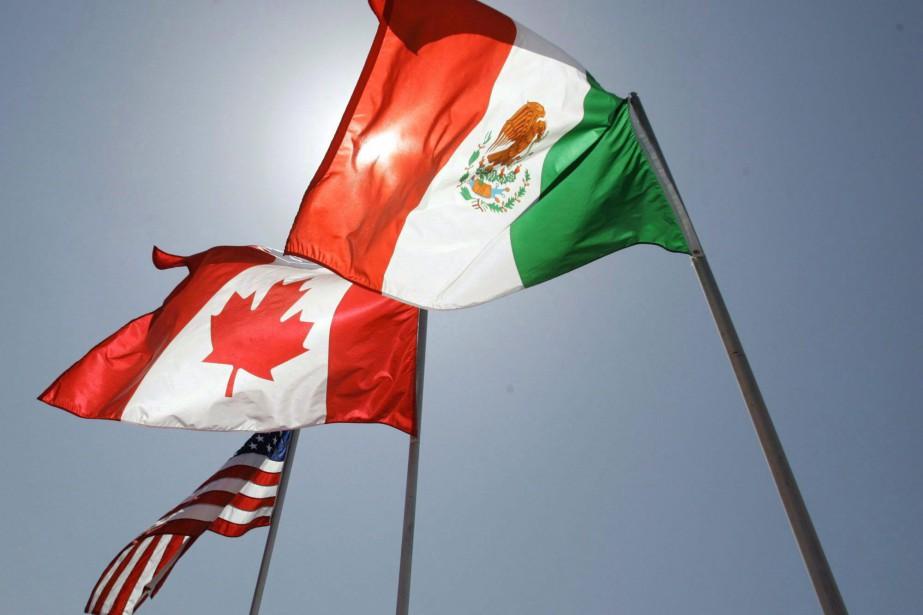 À la Maison-Blanche, le représentant américain au Commerce... (PHOTO ARCHIVES LA PRESSE CANADIENNE)