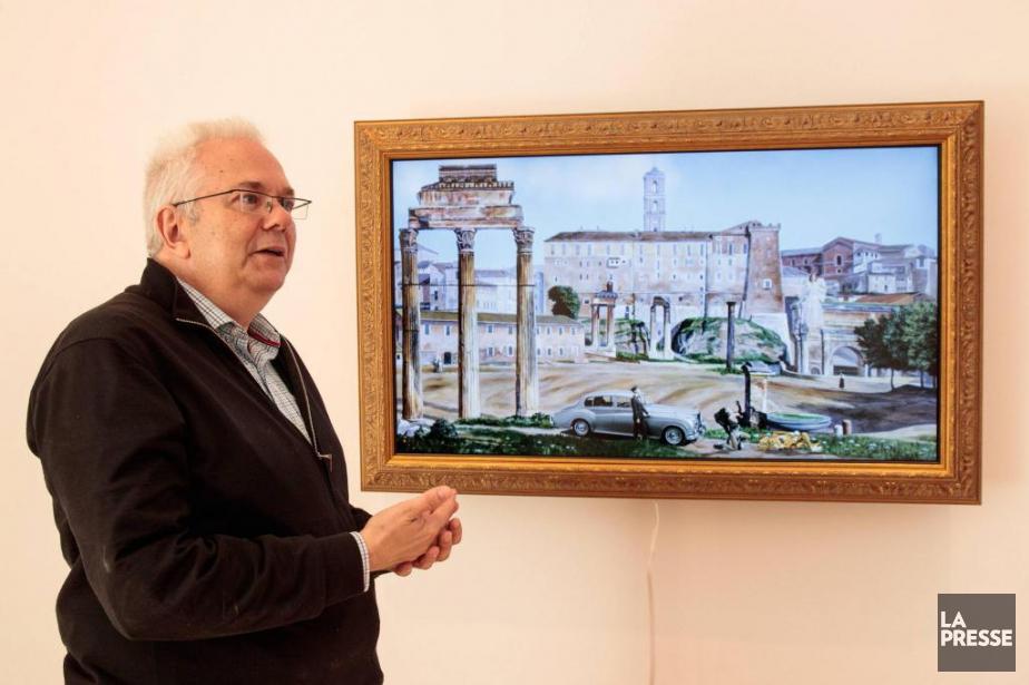 Le galeriste Pierre-François Ouellette... (Photo Hugo-Sébastien Aubert, archives La Presse)