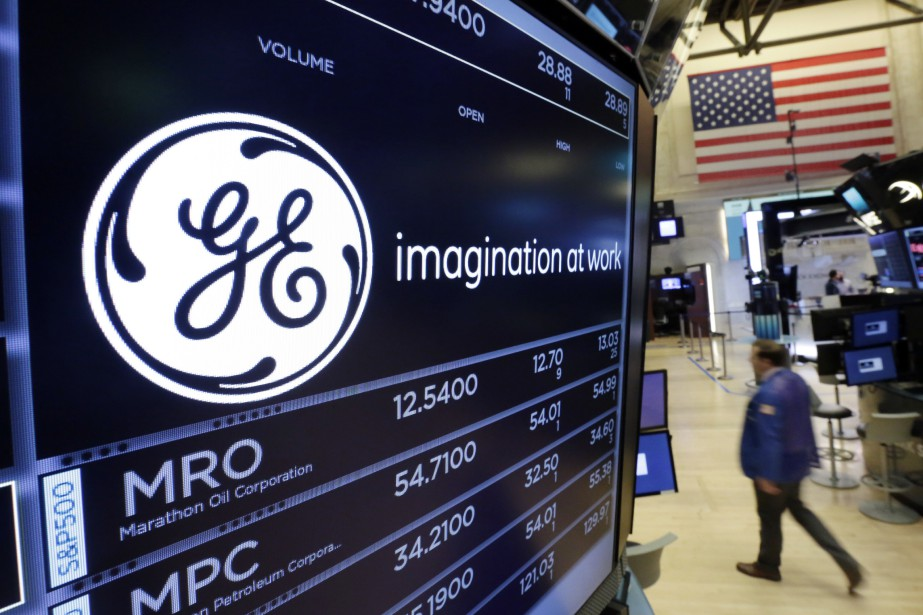 Le chiffre d'affaires de General Electric a également... (PHOTO ARCHIVES ASSOCIATED PRESS)