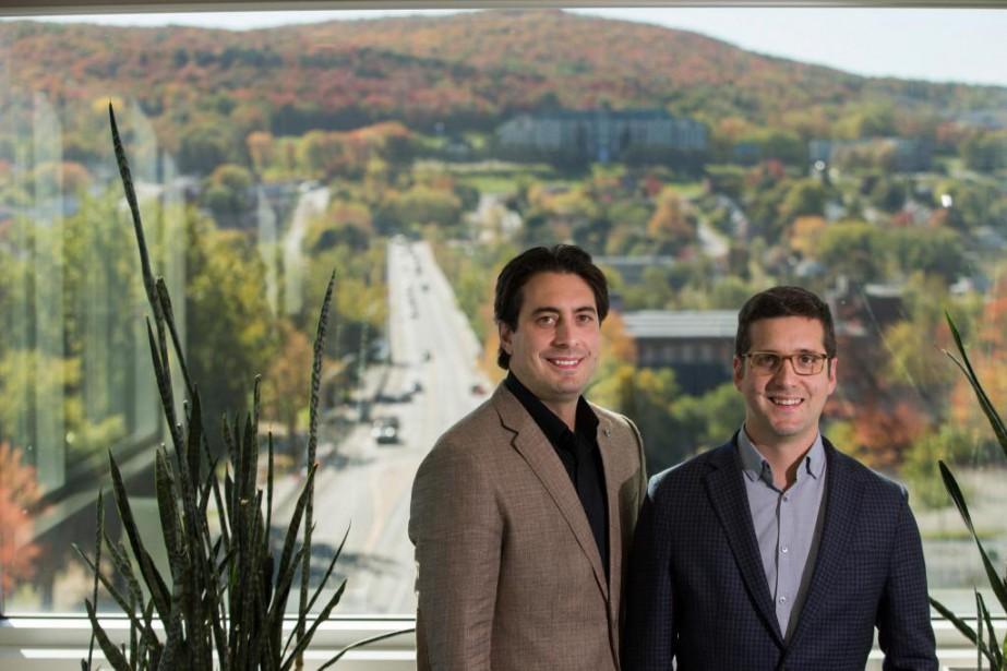 Peter et Matthew Cassar ont fondéSherWeb, une entreprise... (Photo Ivanoh Demers, La Presse)
