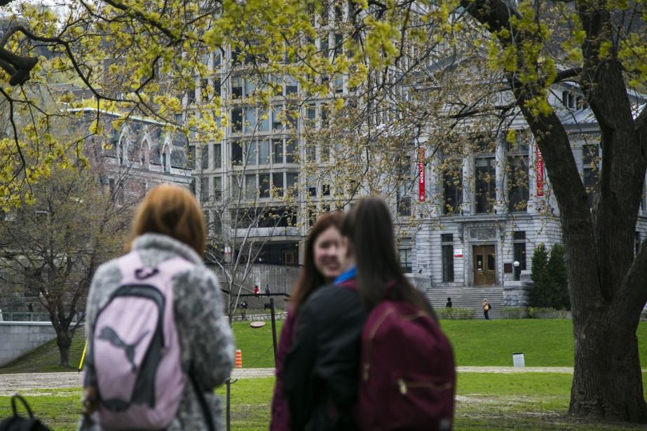 Le campus dede l'Université McGill, à Montréal.... (PHOTO MARTIN TREMBLAY, LA PRESSE)