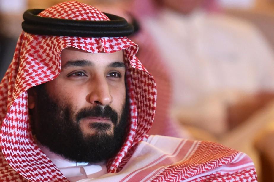 Mardi à Riyad, devant un forum économique baptisé... (AFP)