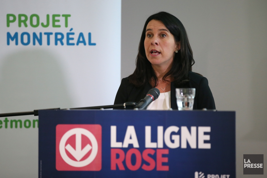 Il y a deux semaines, Valérie Plante avait... (Photo Martin Chamberland, archives La Presse)