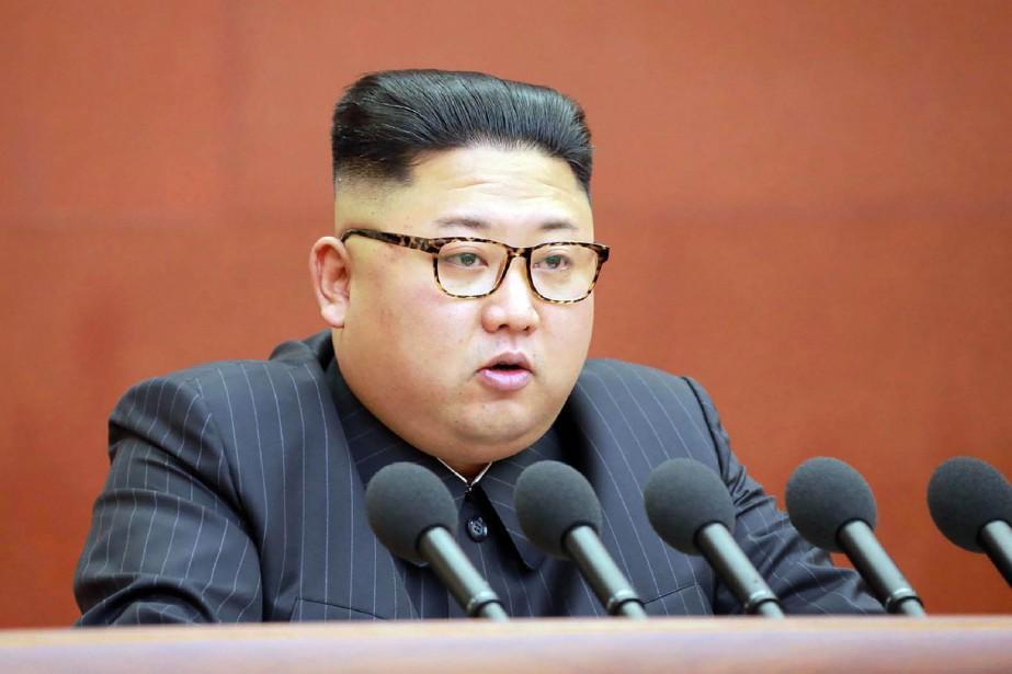 Kim Jong-un... (ARCHIVES AFP)