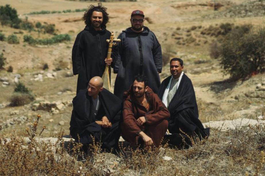 Le groupe Bargou 08... (Photo tirée de la page Facebook du groupe)