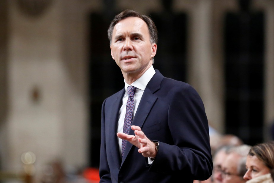 Le ministre fédéral des Finances, Bill Morneau.... (PHOTO REUTERS)