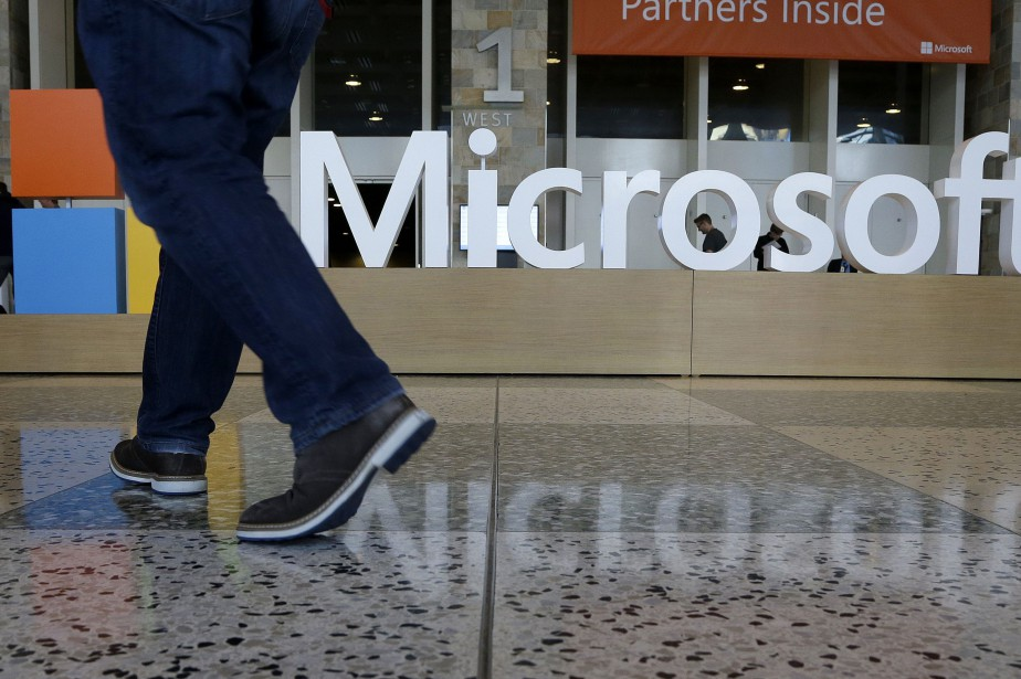 Microsofta dégagé un bénéfice net en progression.... (PHOTO JEFF CHIU, ARCHIVES ASSOCIATED PRESS)