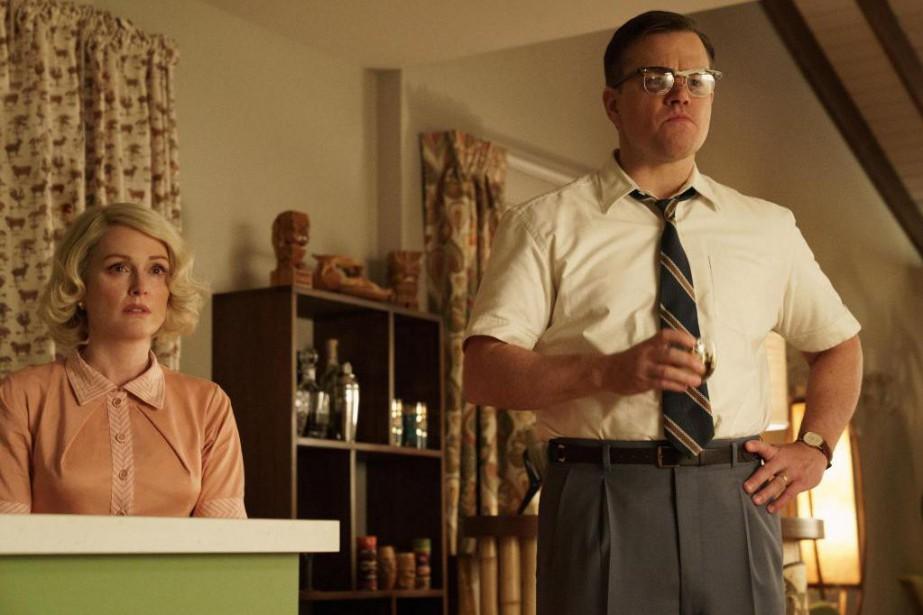 Julianne Moore et Matt Damon dans Suburbicon, un... (Photo:Entract Films)