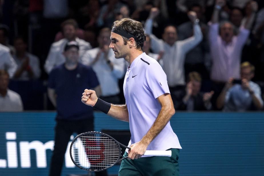 Roger Federer est venu de l'arrière pour venir à bout de la 28e raquette... (AFP)