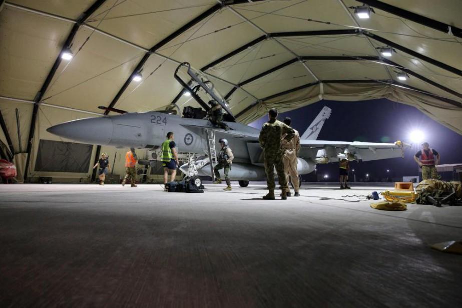 Au début d'octobre, le gouvernement Trudeau a confirmé... (Photo Reuters/Australian Defense Force)
