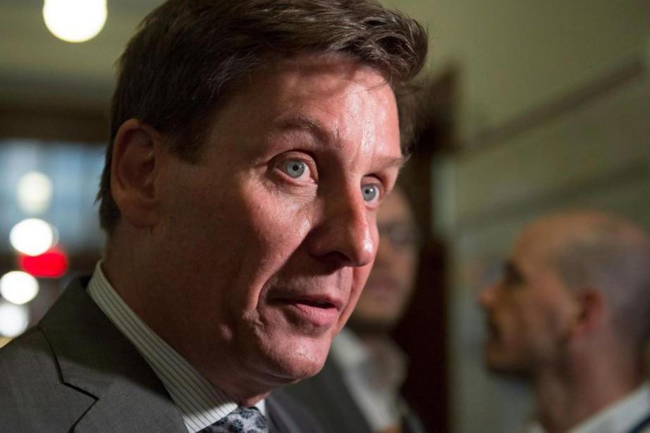 Le ministrede l'Énergie et des Ressources naturelles, Pierre... (Photo Jacques Boissinot, La Presse canadienne)