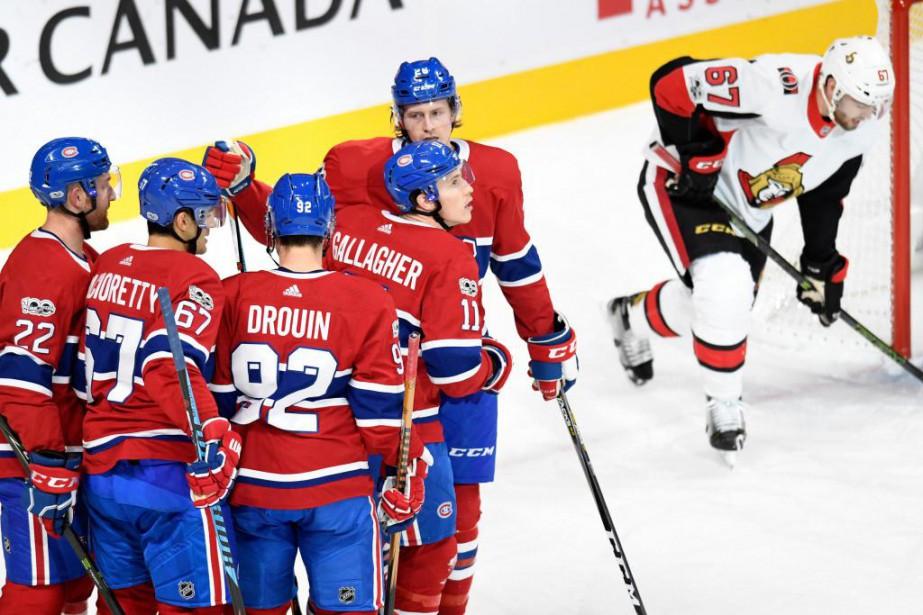 Depuis le début de la saison, le jeu... (Photo Bernard Brault, La Presse)