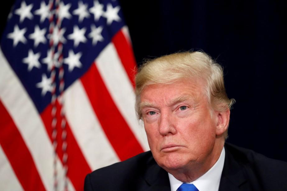 Le président américain Donald Trump pourrait nommer jeudi... (Photo Kevin Lamarque, archives REUTERS)