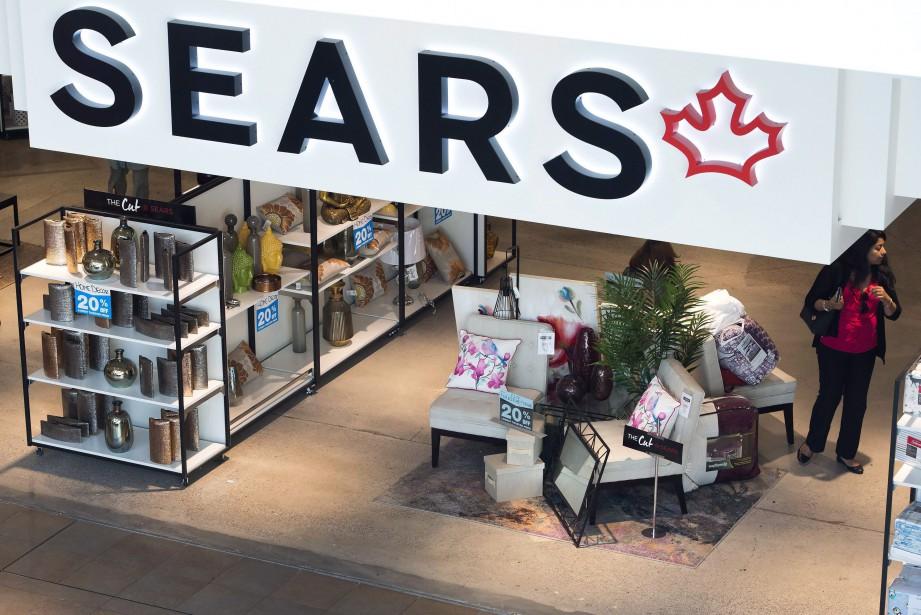 Sears Canada a entamé, le 19 octobre, une... (photo Nathan Denette, La Presse canadienne)
