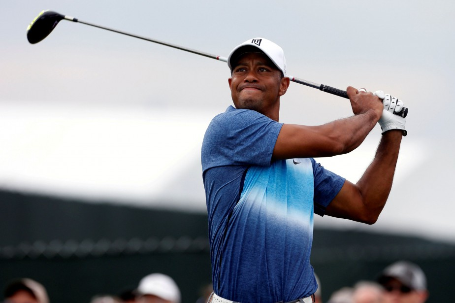 Le golfeur Tiger Woods.... (Photo Brian Spurlock, USA TODAY Sports)