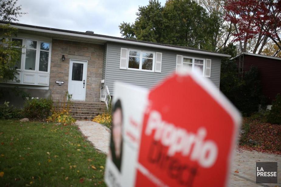 Si vous voulez vendre votre maison «vite et... (Photo Martin Chamberland, archives La Presse)