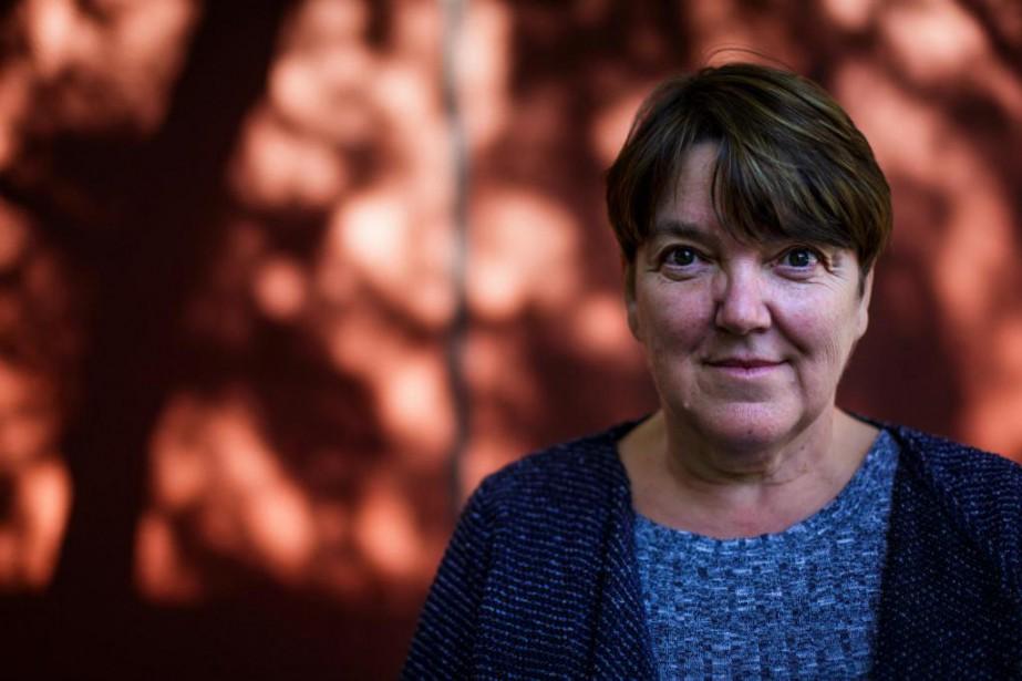 Lise Tremblay est l'auteure deL'habitude des bêtes.... (PHOTO OLIVIER JEAN, LA PRESSE)