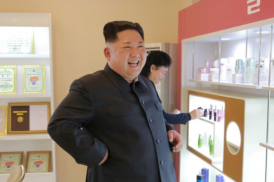 Le leader nord-coréen Kim Jong Un... (PHOTO REUTERS/AGENCE KCNA)